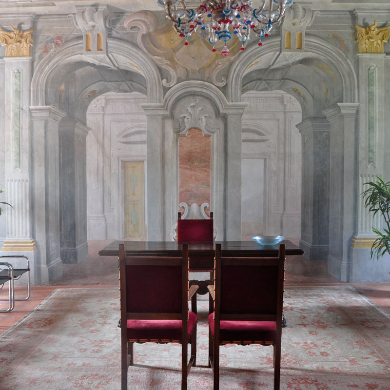Salone nobile Villa Carrarra