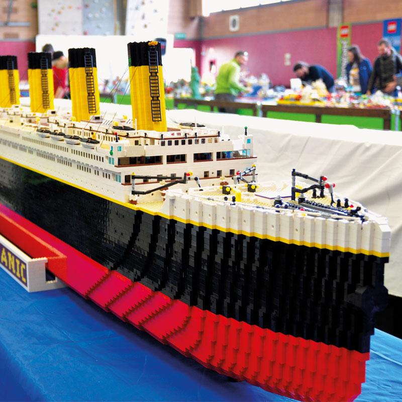 Traiettorie Instabili Mattoncini in Villa Lego Titanic