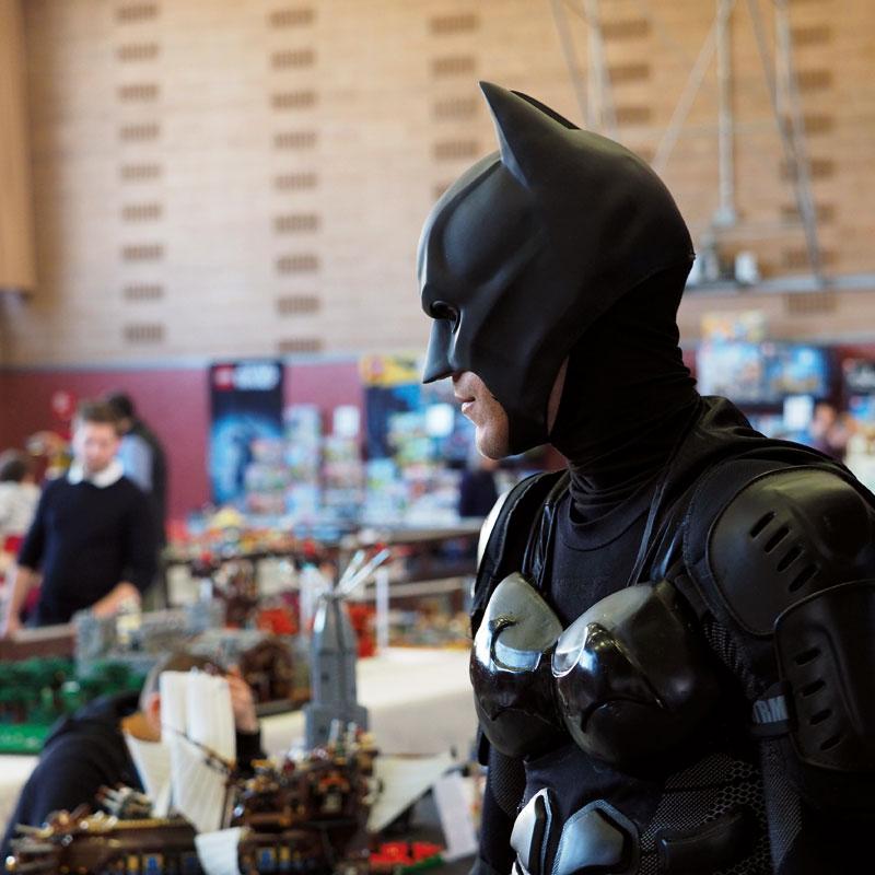Traiettorie Instabili Mattoncini in Villa Batman